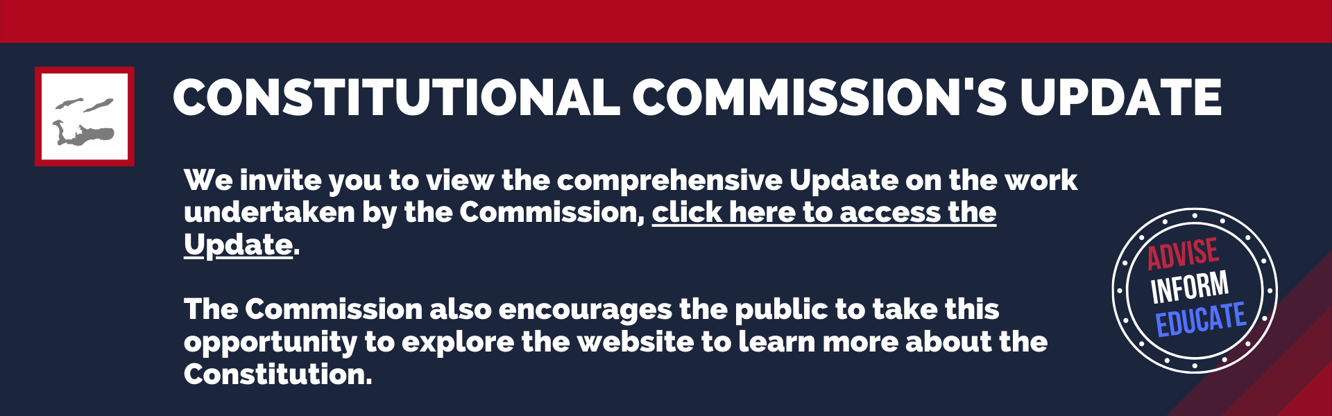 Constitutional Commission's Update